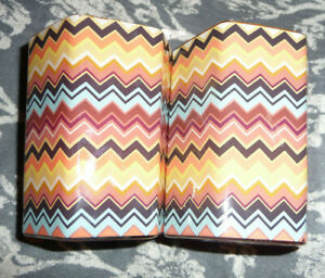 Colore Zig Zag Glass Jar Candle Tuscan Sunrise free shipping good Deal Missoni
