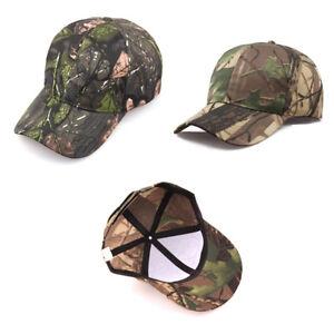 Image is loading Men-Women-Camouflage-Adjustable-Cap-Camo-Baseball-Hunting- 232dba5fcade