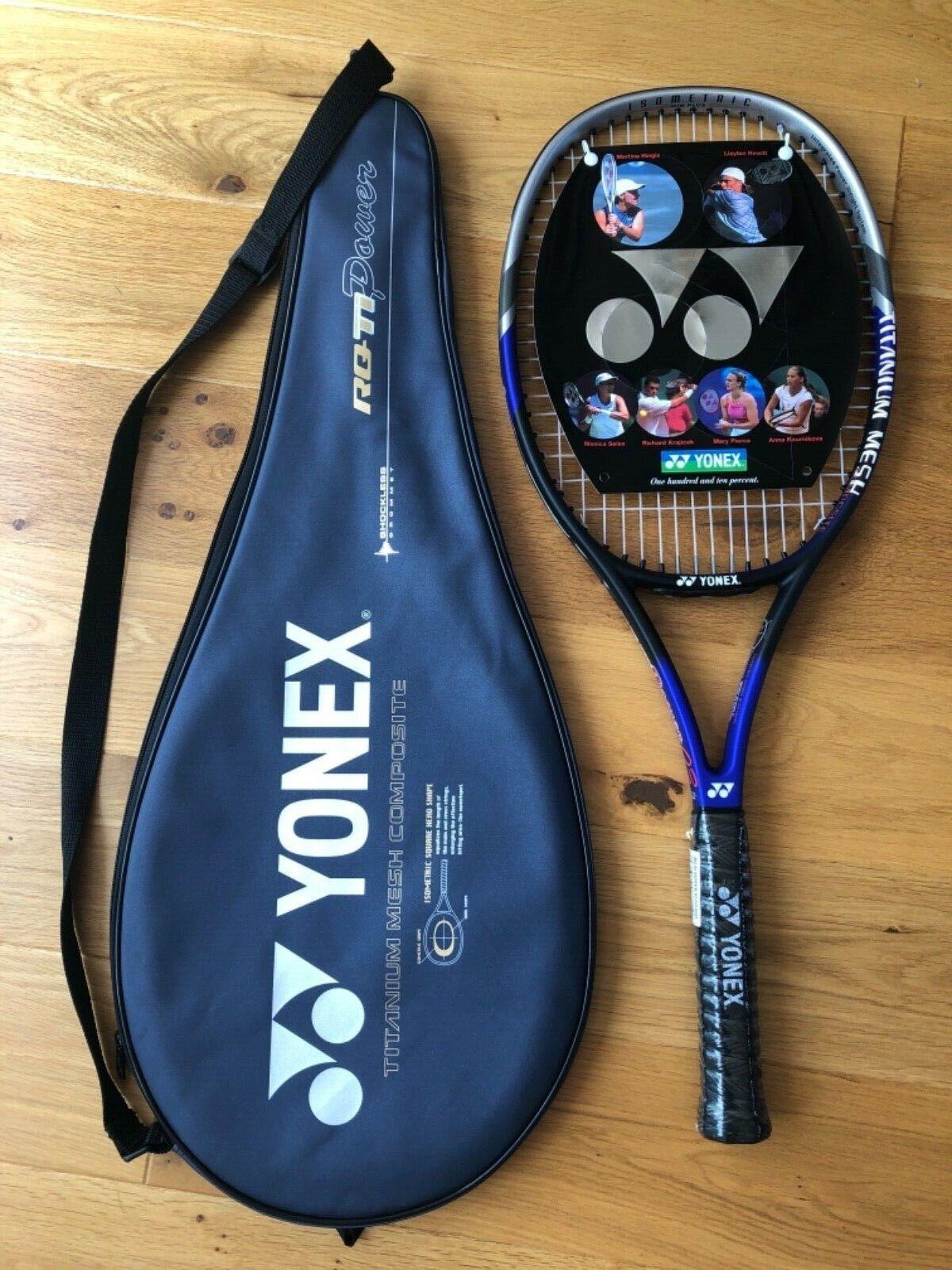 YONEX RQ Ti Power 03 Raquette de tennis et couGrünure. Grip 2. NEUF dans emballage.