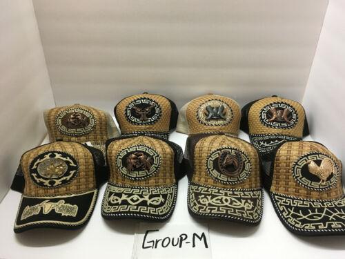 Free Shipping! W//assorted Concho Mexican Charro Caps Gorras Charras groupM