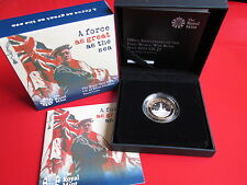 RM HMS Belfast Royal Navy 2015 UK £2 Silver Proof Piedfort Coin COA with Case