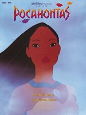 "WALT DISNEY ""POCAHONTAS"" PIANO/VOCAL/GUITAR MUSIC BOOK-BRAND NEW ON SALE-RARE!!"