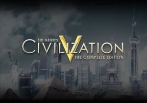 Sid Meier's Civilization V 5 The Complete Edition PC Steam [KEY ONLY!]  GLOBAL