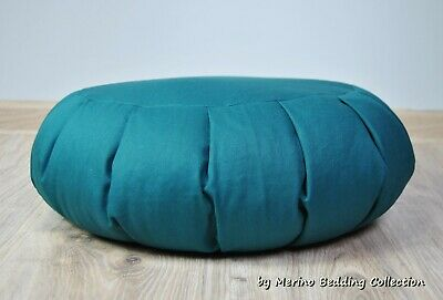 """British Made MEDITATION CUSHION COVER 11/"""" x 7/"""" GABARDINE FABRIC *COVER ONLY*"""