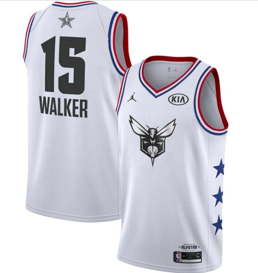 Nike Jordan Charlotte Hornets Kemba Walker All Star Jersey Size XXL Bv3574 116