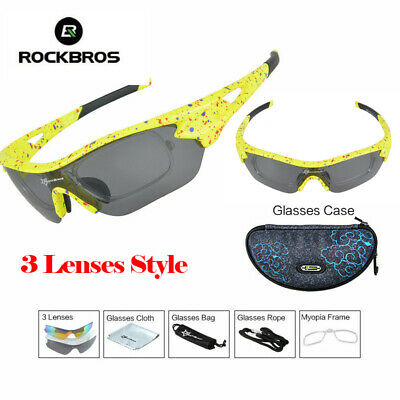 Polarized Sports Sunglasses Cycling Goggles Adjustable Rope UV400 Eye Protection