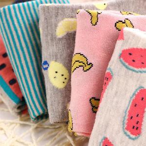 1-Pair-Cute-Casual-Cotton-Women-Girl-Fruit-Short-Socks-Ankle-Soft-Boat-Sock