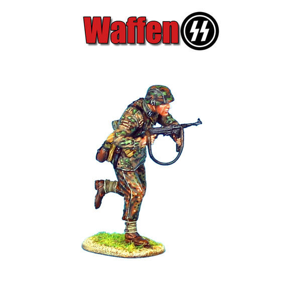 First Legion  NOR022 Waffen-SS Panzer Grenadier Running with MP40