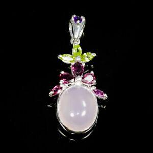 Handmade11ct-Natural-Rose-Quartz-925-Sterling-Silver-Pendant-NP06219