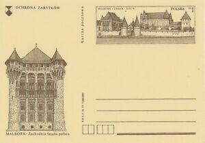Poland prepaid postcard (Cp 669) MALBORK - Bystra Slaska, Polska - Poland prepaid postcard (Cp 669) MALBORK - Bystra Slaska, Polska