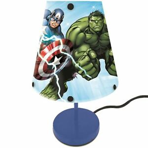 Marvel-Avengers-Chevet-Table-Lampe-Bureaus-Tablettes-Enfants