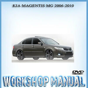 kia magentis mg 2006 2010 workshop service repair manual in disc ebay rh ebay com au Kia Carnival Kia Optima Front Wheel Drive
