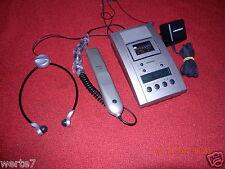 GRUNDIG St3221 GFO 75 00 Stenorette mitNetzteil+Handmikrofon+Kopfhörer,NEUWERTIG