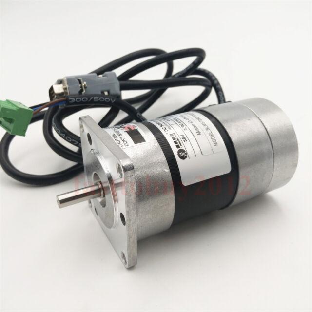 32W 3000rpm 0.1N.m NEMA17 Brushless DC servo motor driver kit 24VDC 1000 line