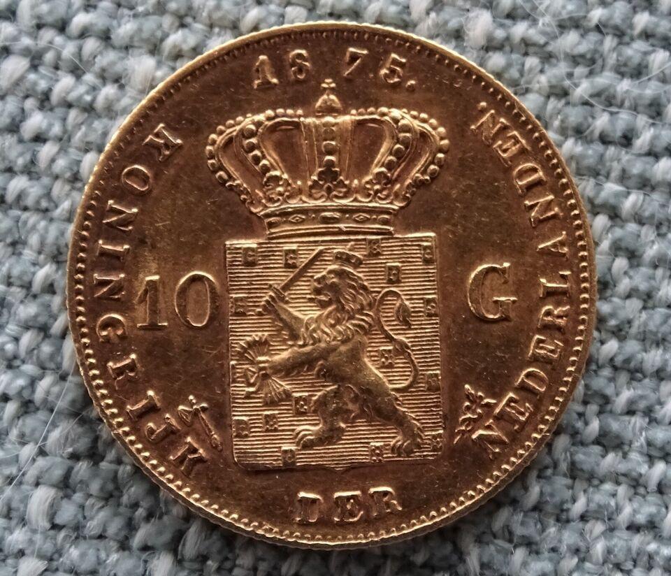 Vesteuropa, mønter, 10 gulden