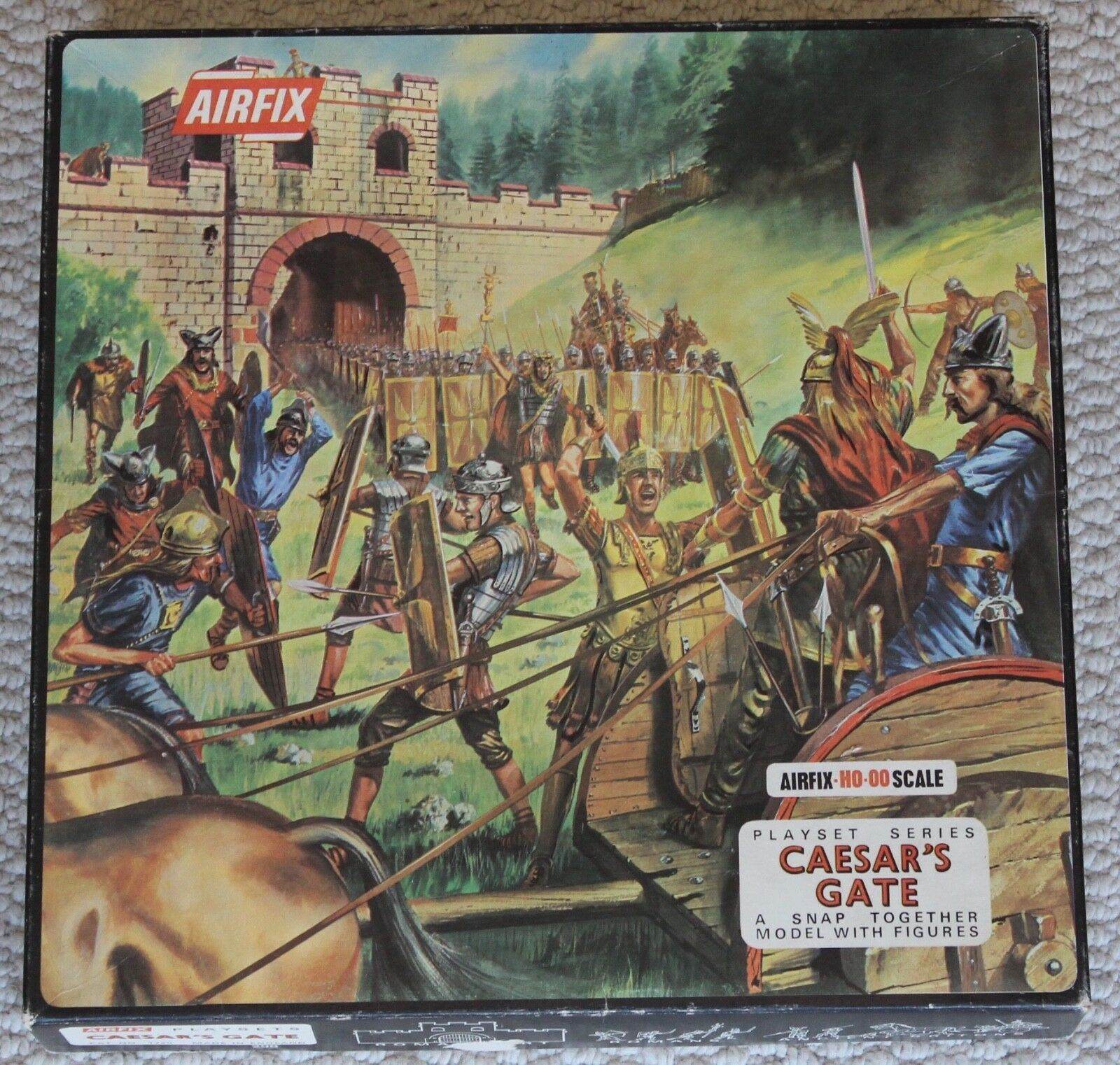Airfix 1 72 toy soldiers model kits ho oo caesars gate romans britons cat 1720