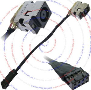 Compaq-Presario-CQ58-125SA-DC-Jack-Power-Socket-w-Cable-Connector
