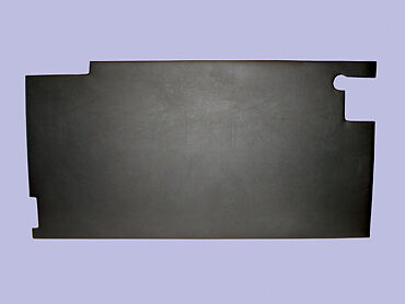 Land Rover Series 3 Black Front Right Hand Lower Interior Door Trim Card  DA2029