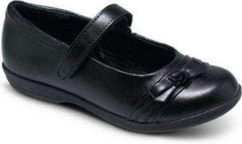 NIB STRIDE RITE Mary Jane Shoes Lesley Black 8.5 M 10.5 W