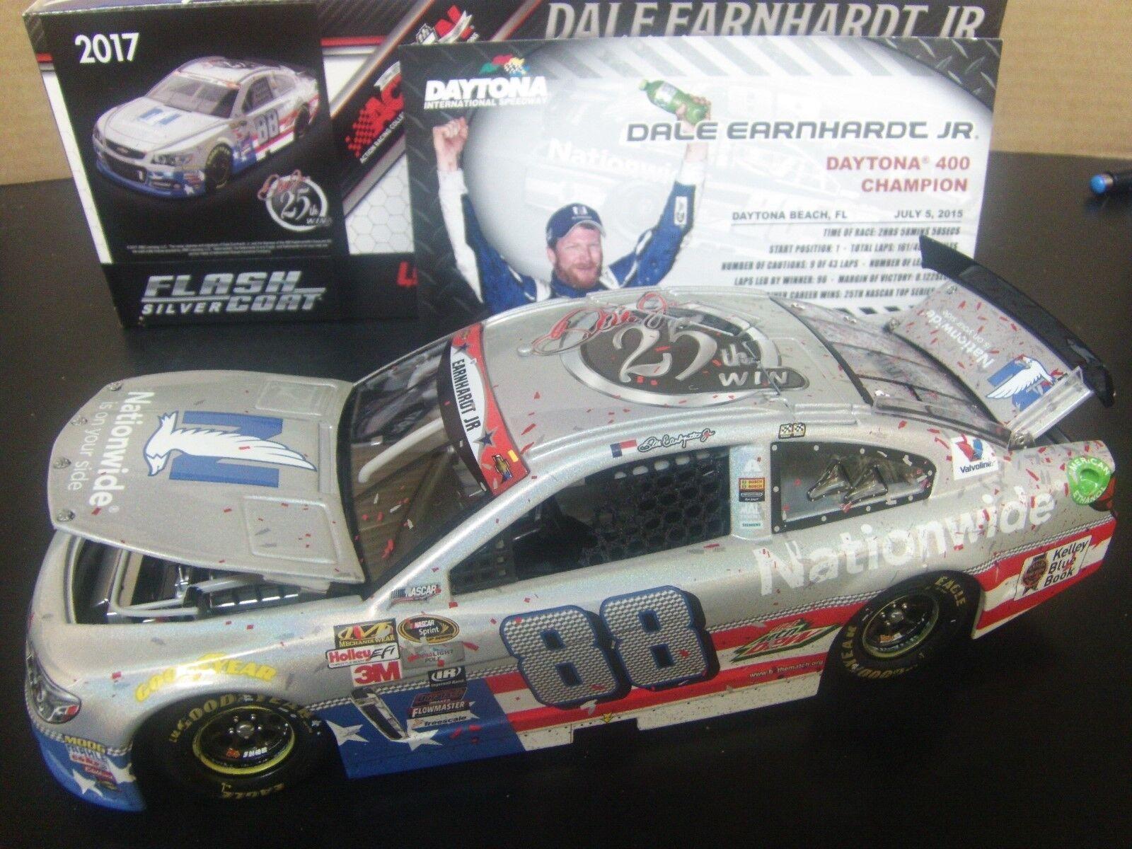 Dale Earnhardt Jr  Daytona Coke 400  25th Career Win 1 24 Flashcoat NASCAR