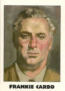 Vintage 1992 TRUE CRIME 2 Card  😎 FRANKIE CARBO  #131 😎  Series 3 Card