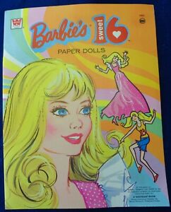 Vintage-Barbie-Paper-Dolls-Uncut-Sweet-Sixteen-Estate-Find-Mod-Era