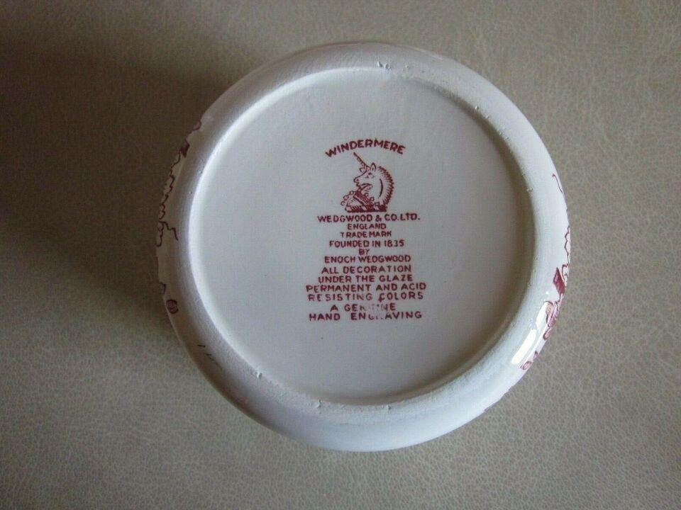 Porcelæn, skåle, Windermere Wedgwood