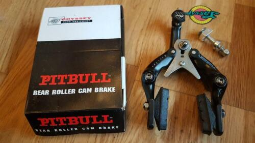 NOS BOXED ODYSSEY PITBULL REAR CALIPER BLACK NEW NEVER USED 80/'s ITEM OLD SCHOOL