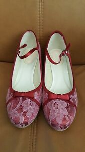 Pink-Paradox-London-size-40-lace-Mary-Janes-shoes-in-pink