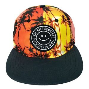 low priced 5c56e eff7b Image is loading NEFF-the-Company-Adjustabe-Snapback-Hat-Surfer-Skateboard-