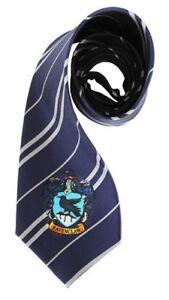 Harry-Potter-Ravenclaw-Hogwarts-Blue-Costume-Neck-Tie-Luna-Lovegood-Cho-Men-Gift