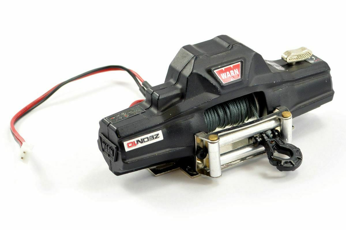Fastrax Metal Double Motor Bumper Winch (2.5Kg) FAST2330 Scale TOY RC