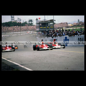 #pha.015718 Photo FERRARI NIKI LAUDA GP F1 INTERLAGOS 1976 Car Auto KsgGfmtu-09094001-444557777