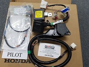 new genuine honda pilot 7 pin trailer harness kit 2016 2017 pilot rh ebay com