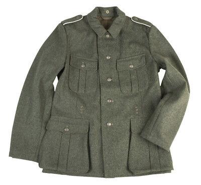 Mil-Tec WH Feldjacke M44 Repro 48-58 Erbsentarn Wehrmacht WW2 Militärkostüm