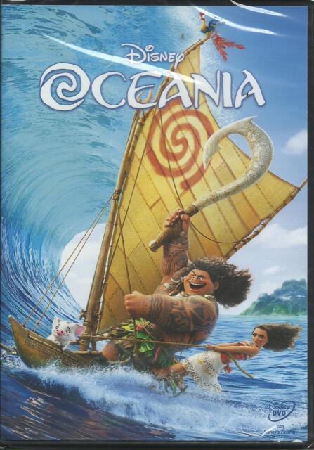 DVD Oceania WALT DISNEY NUOVO originale e SIGILLATO versione Italiana