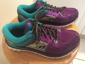 075eff66ab3a5 Brooks Glycerin 14 Pansy Ceramic Purple Lime Women Running Shoes ...