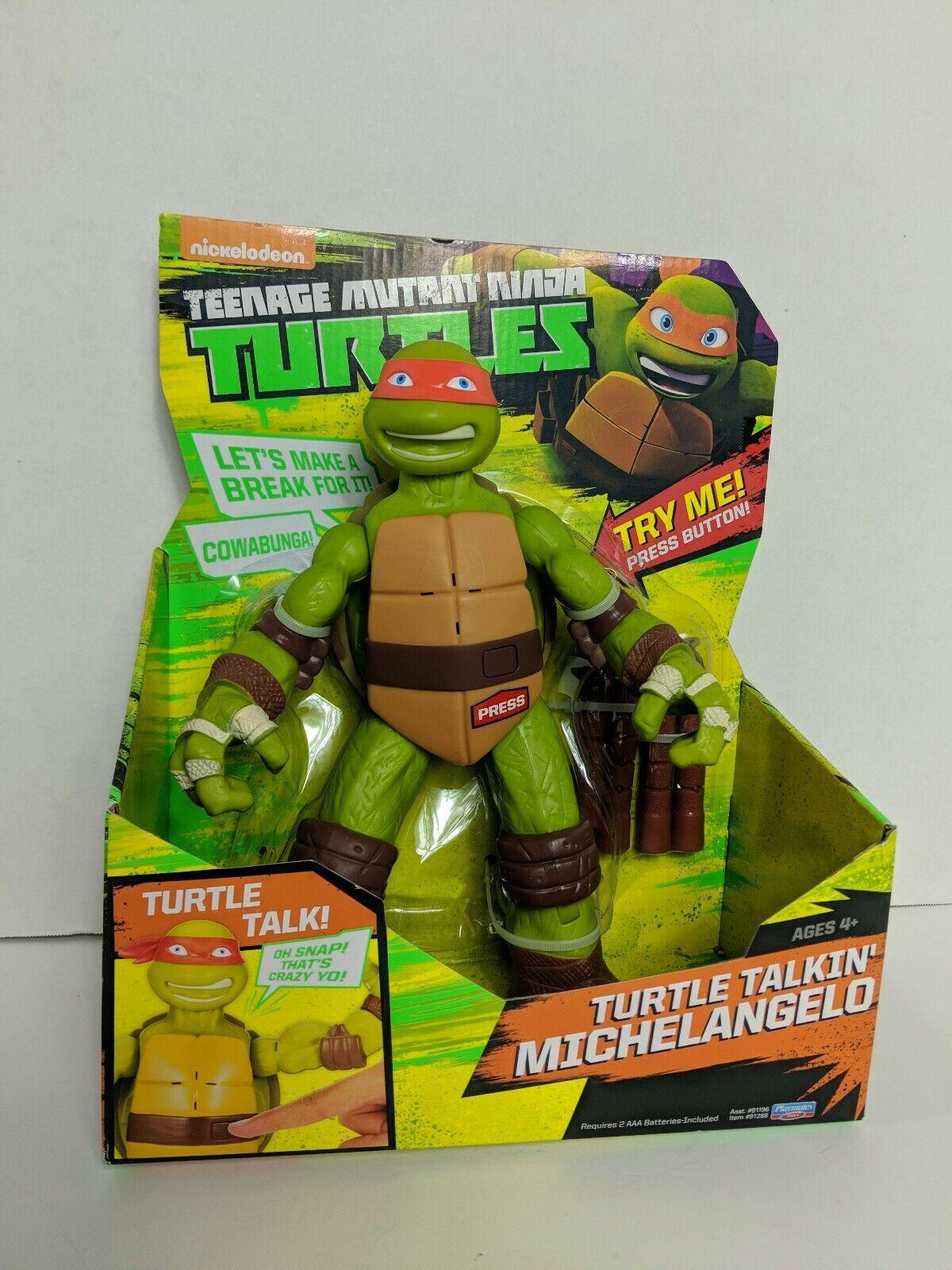 Turtle Talking Michealangelo 11   Figure TMNT nouveau  marques de créateurs bon marché