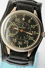 RUSSIAN AVIA PILOT Wrist Watch Poljot mechanical Vintage Soviet Caliber 3602