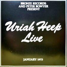 Uriah Heep Live By Uriah Heep Cd Jul 1989 Mercury For Sale Online Ebay