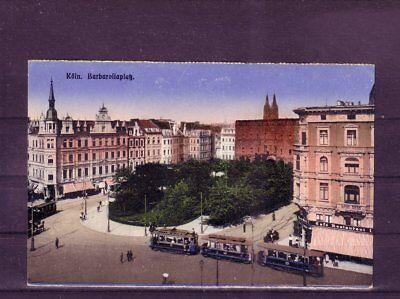 Nicht Frankierte Ansichtskarte Köln Barbarossaplatz europa:11499 Weitere Rabatte üBerraschungen
