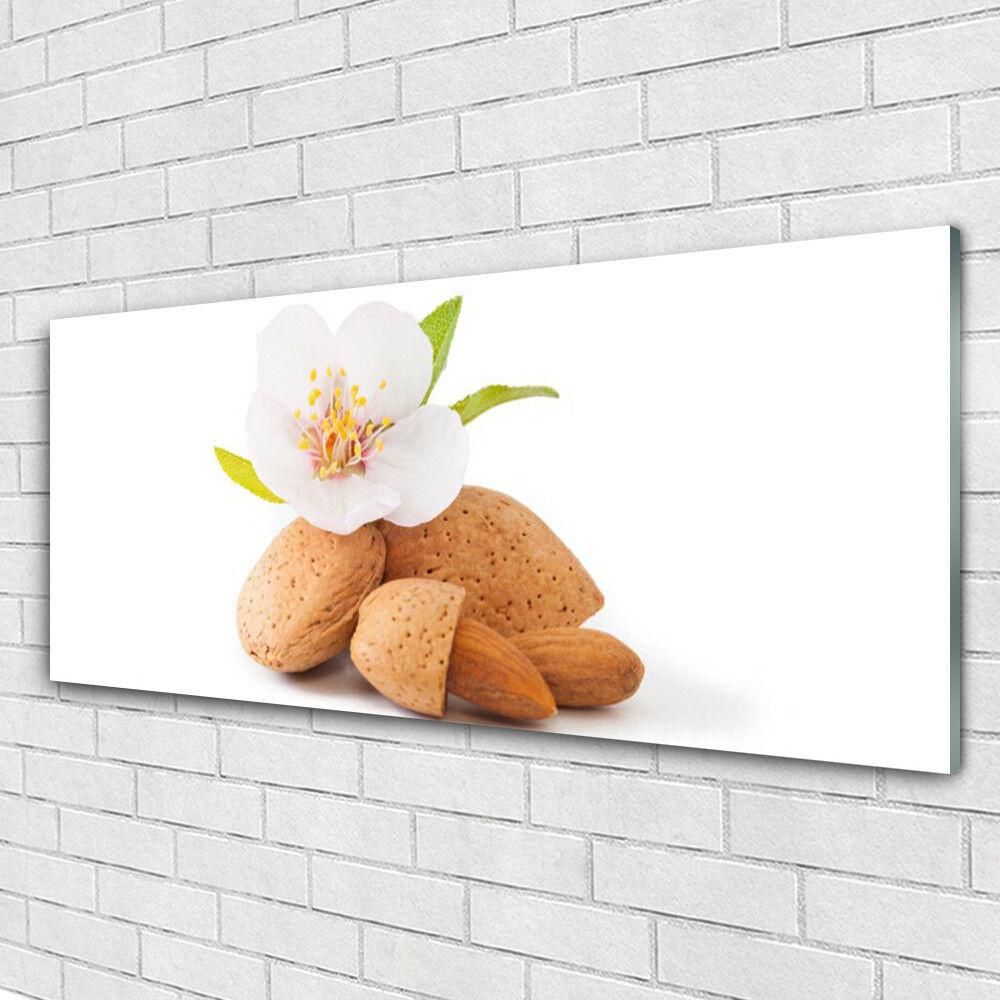 Impression sur verre acrylique Image tableau 125x50 Floral Fleurs Pistache