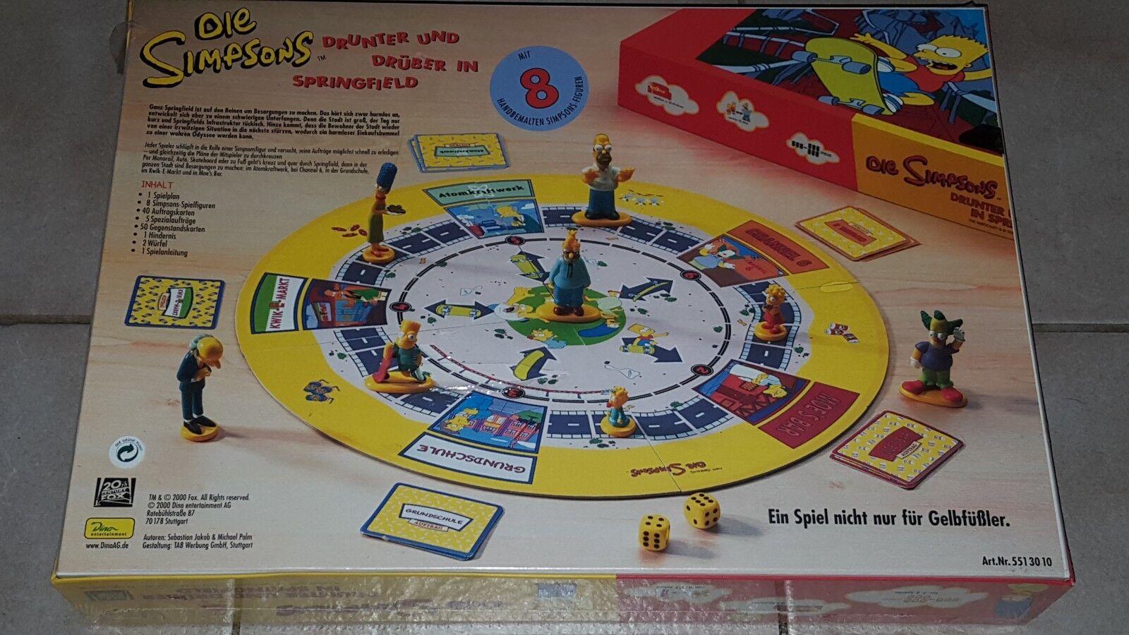 Les Simpson-dessous et par-dessus à Springfield-Dino jeu de plateau NOUVEAU NOUVEAU NOUVEAU & NEUF dans sa boîte 3978d5