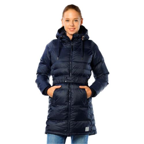 Women/'s Winter Down Jacket Adidas Originals Coat Zippered Hooded Padded