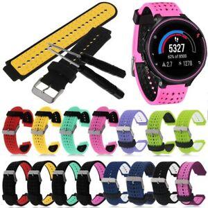 Wristband-Watch-Band-Strap-Garmin-Forerunner-220-230-235-620-630-735XT-GPS-22mm
