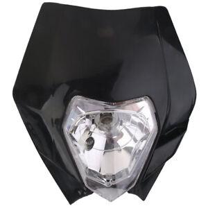 1X-Tete-de-Fourche-Plaque-Phare-de-Moto-Route-Enduro-Universel-pour-Yamaha-GH