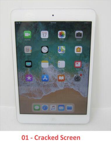 Apple iPad mini 2 16GB Silver SL 7.9in Cracked Screen Wi-Fi