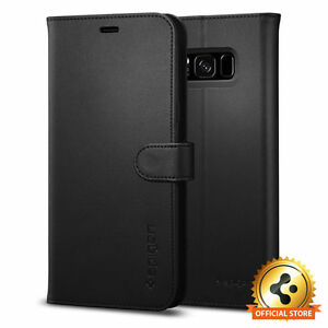 Spigen-Galaxy-S8-Plus-Case-Wallet-S-Black
