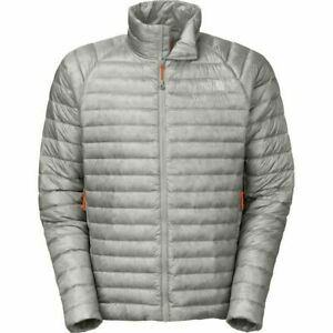 The North Face Mens Quince Packable Lightweight 800 Down Jacket Monument Grey XL