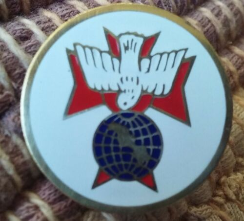 Knights of Columbus 4th Degree lapel jacket pin pre-owned